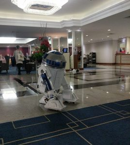 R2 back at the Renaissance
